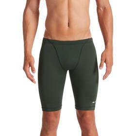 Nike Swim Hydrastrong Solids Costume Da Gara Jammer Uomo, verde oliva